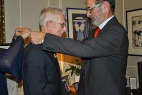 Order of Bernardo O'Higgins to Mr. Robert Hart