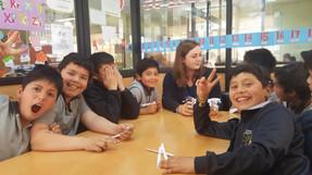 Project Trust: Imogen Dixon volunteering in Santiago