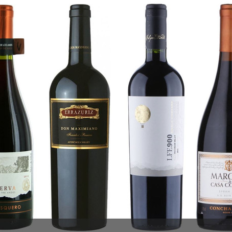 Seven sensational red wines from Chile