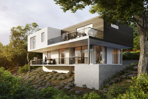 Ognayan Design - North Hollywood new development for private client
