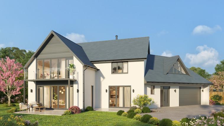 NewtonFerrers UK 3D exterior rendering