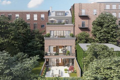 Terrace house backyard renovation with a modern inspiration