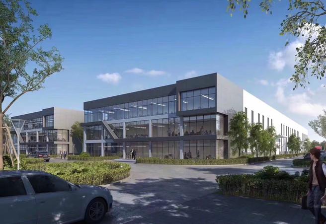 Commercial Building 3D rendering visualisation