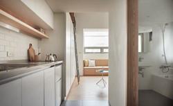 Minimalist design open kitchen