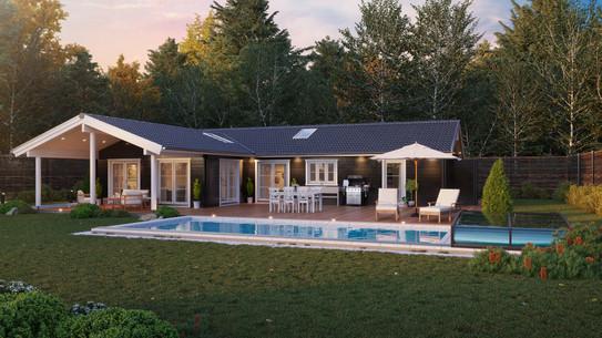 Danish summer house in Kloevervaenget