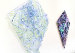 Blue Kite & Purple Kite