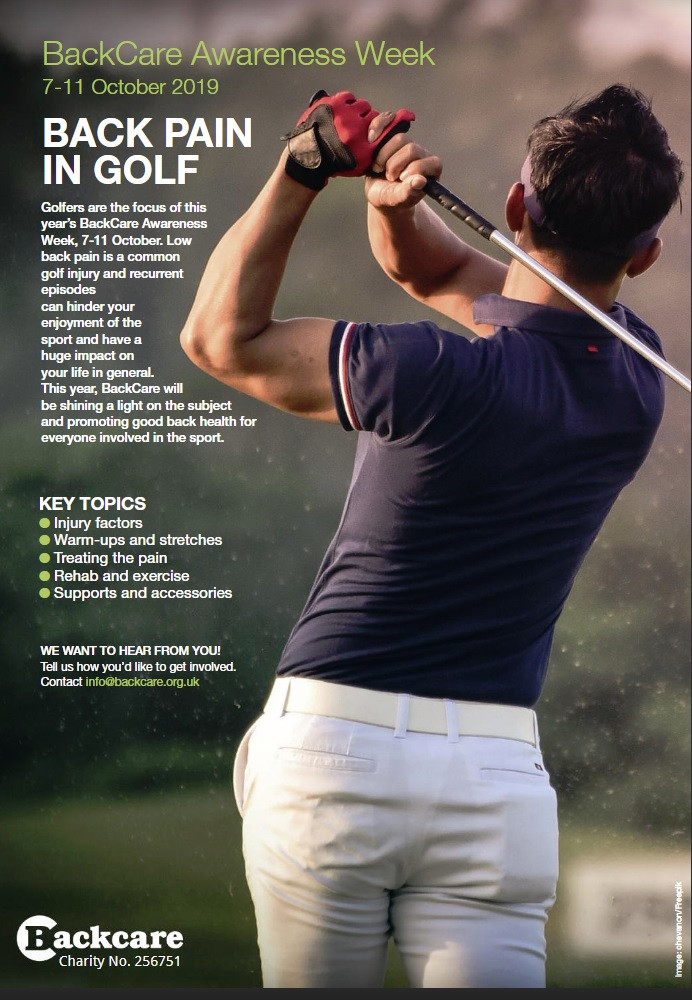 #backpainweek, how back pain can be cured, back pain in golf, how back pain affects daily life, back pain to buttocks
