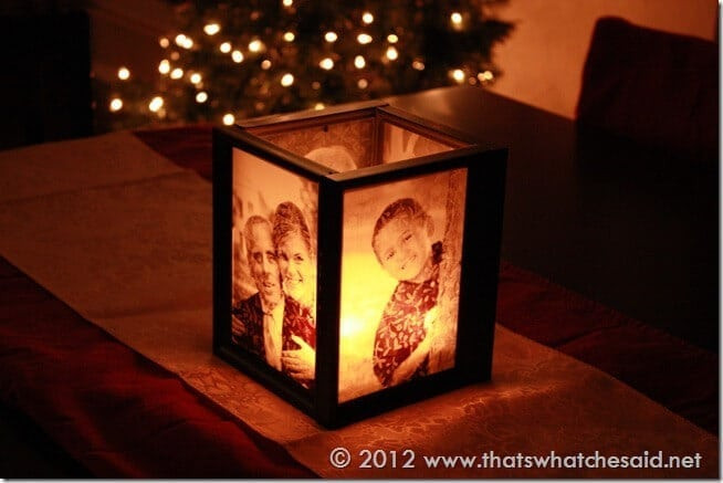 christmas gifts, gift ideas for him,gift ideas for women, diy photo booth, gift voucher, massage voucher diy photo luminaries