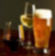 alchol beer wine