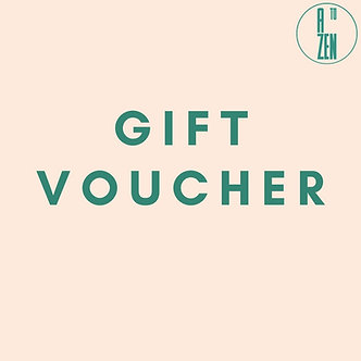 Postage for gift voucher