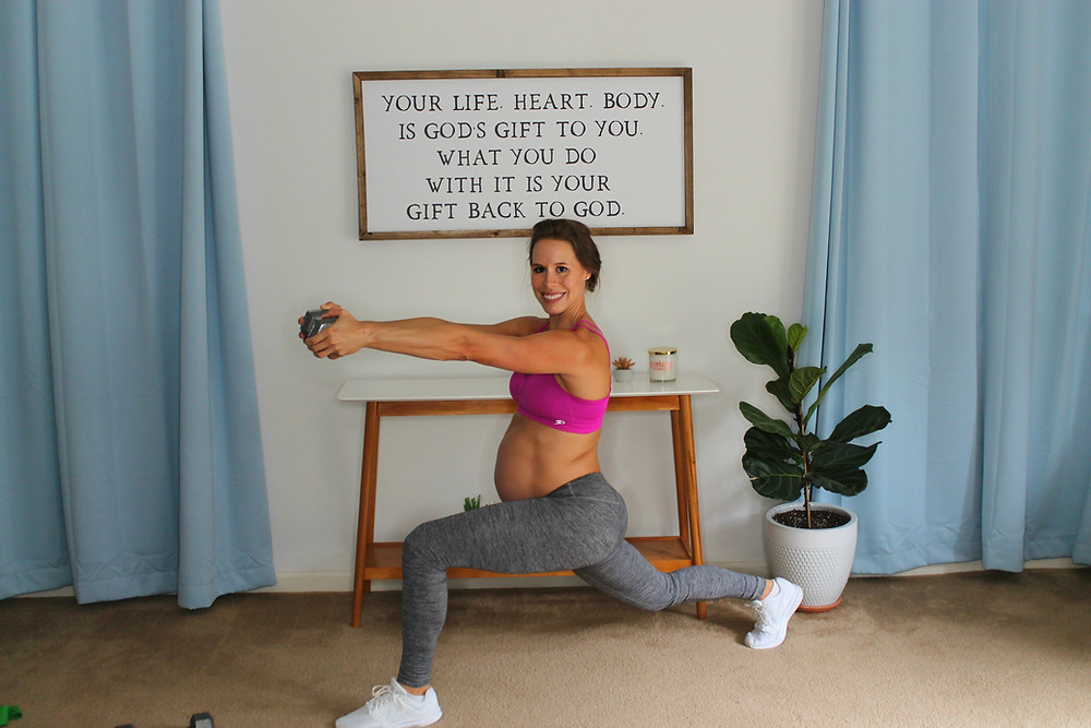 PRENATAL-DUMBELL-WORKOUT-FOR-PREGNANCY-DEPRESSION