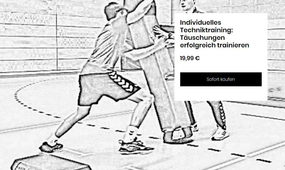 Individuelles_Techniktraining_Täuschung