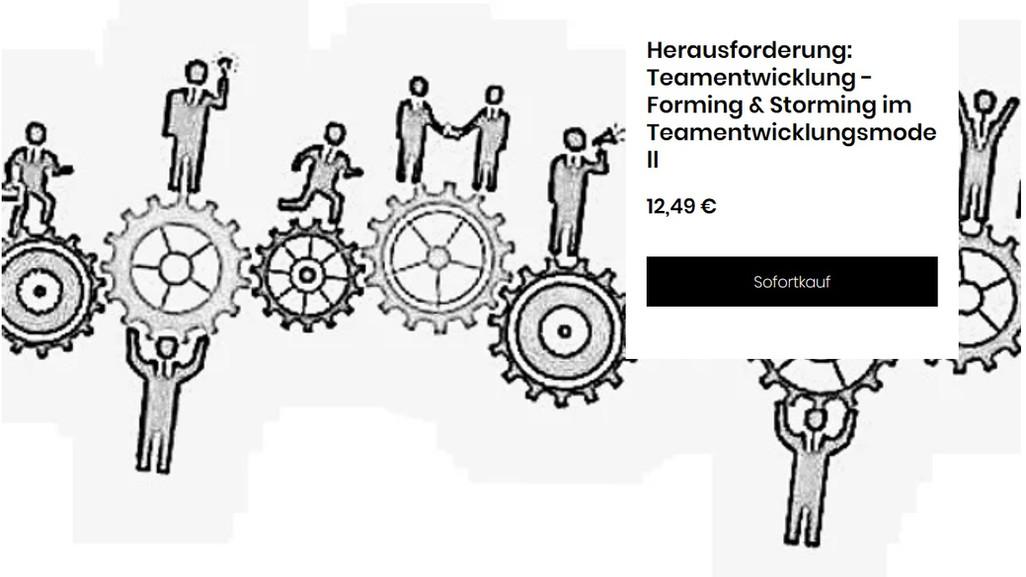 Teamentwicklung II Forming und Storming.