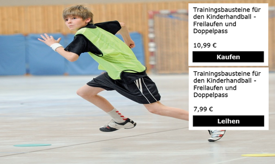Trainingsbausteine für den Kinderhandbal