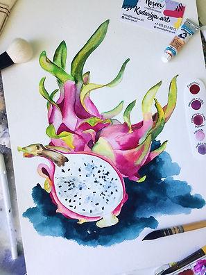 Food Illustration Karina Valitova Pita.j