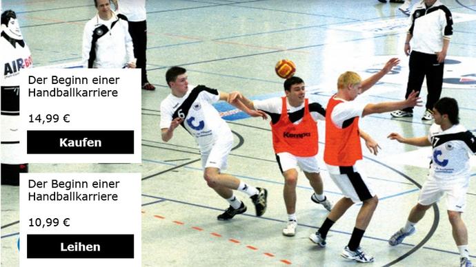 Der Beginn einer Handballkarriere Bauste