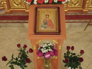 Престольный праздник нашего храма - перенесение мощей благоверного князя Александра Невского.