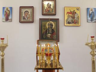 Совершенна лития в часовне Святого великомученика Георгия Победоносца.