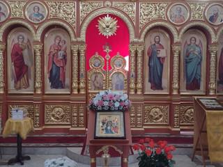 Божественная литургия и Чин Великого освящения воды в праздник Крещения Господня.