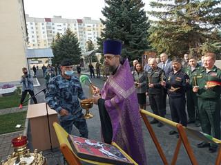 В Саратове освящена часовня во имя великомученика Георгия Победоносца