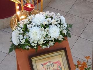 Божественная Литургия в праздник Сретения Господня.