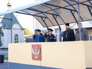 Священник принял участие в праздновании Дня образования спецназа Росгвардии
