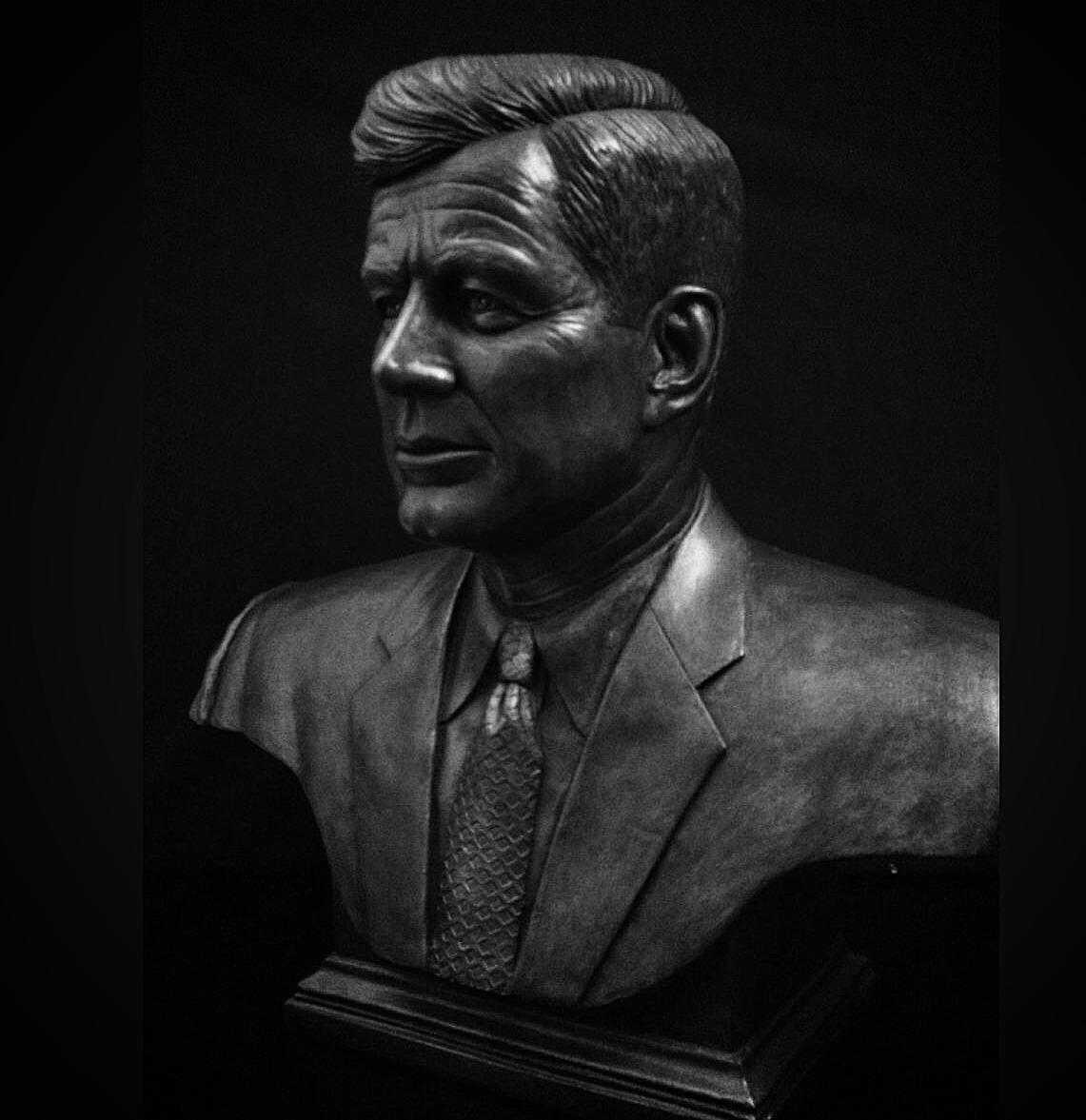 John F. Kennedy Bust