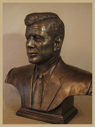 John F. Kennedy (Portrait Bust)
