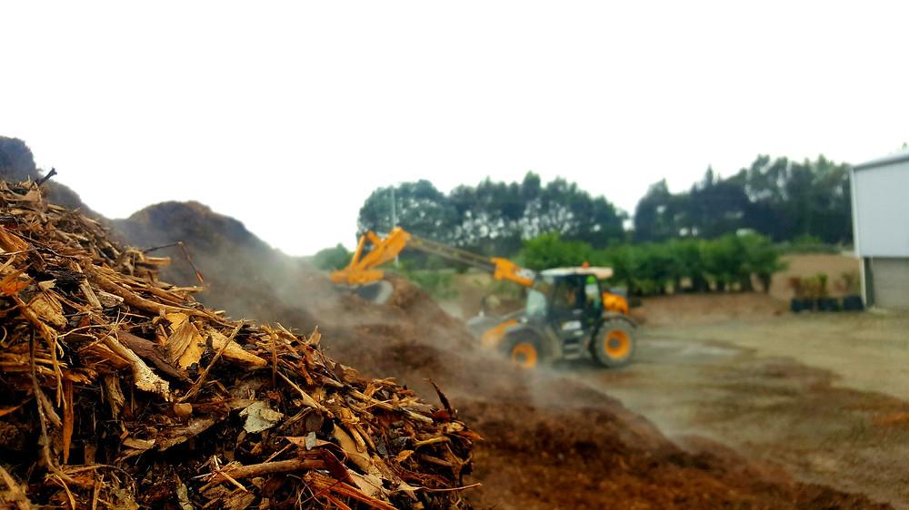 Unscreened Organic Mulch