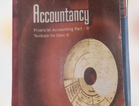 Accountancy (financial accounting part 2) class 11th