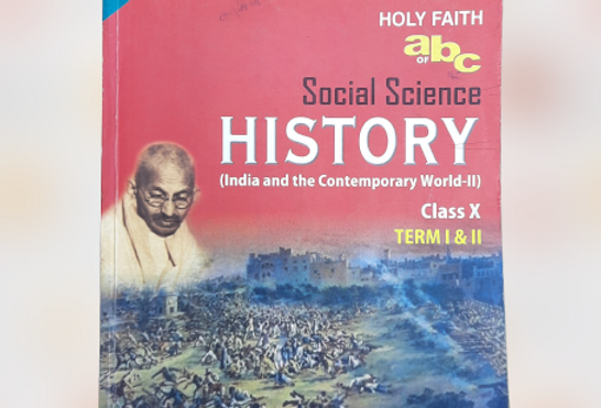 History book for class 10th NCERT