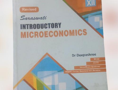 Microeconomics by dr. deepashree class 11th