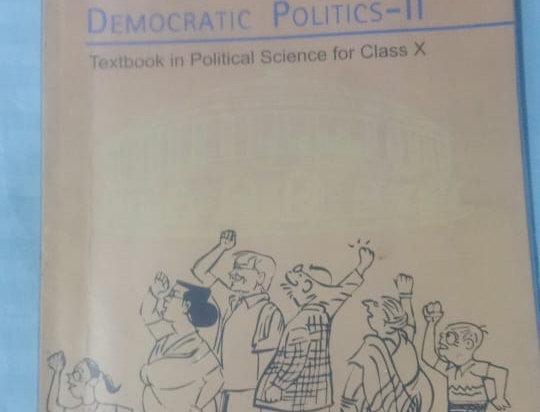 Social science (democratic politics part 2) class 10th