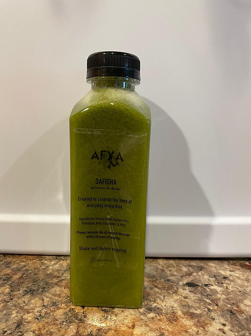 The Cold-pressed Juices Safisha flavor