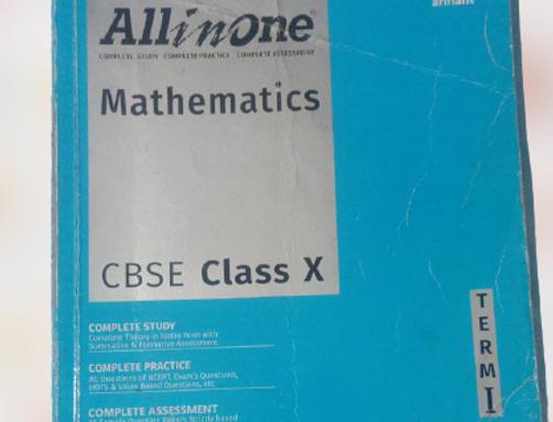 All in One maths term 1 class 10th