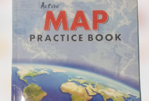 Map practice book class 9th