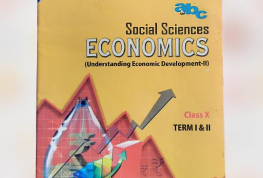 Economics book for class 10th NCERT