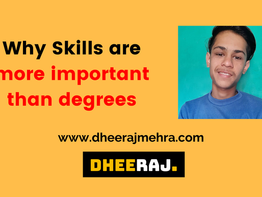 Why skills are more important than degrees ?