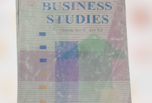 Business Studies Class 11th NCERT