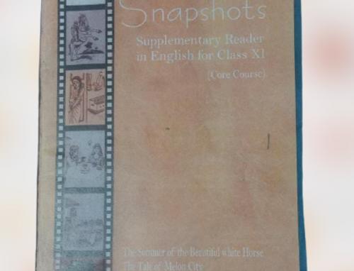 Snapshot English supplementary class 11th