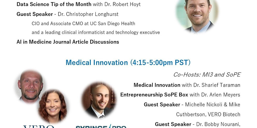 Jan 2021 - Medical Intelligence and Innovation Meeting
