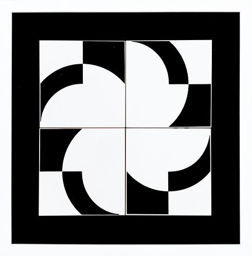 Quadro | Crescent A | 2x2