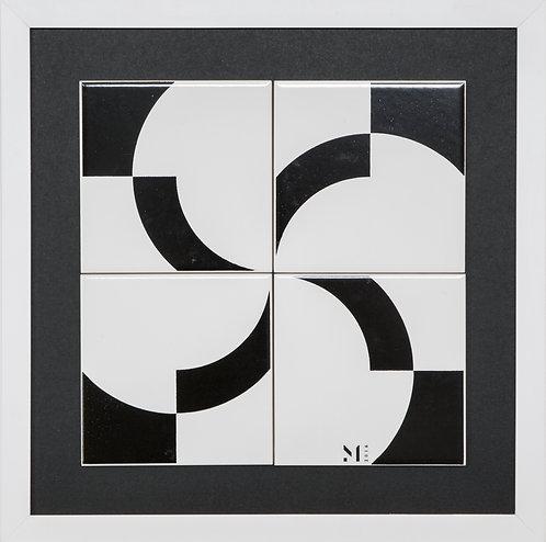 Quadro | Crescent B | 2x2
