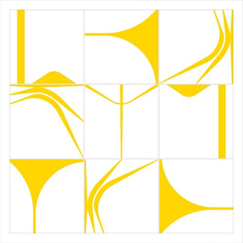 Quadro | BRASÍLIA60 | Amarelo