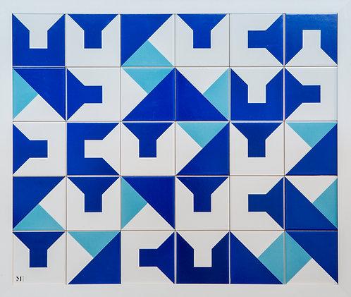Quadro | Symphony in Blue | 6x5