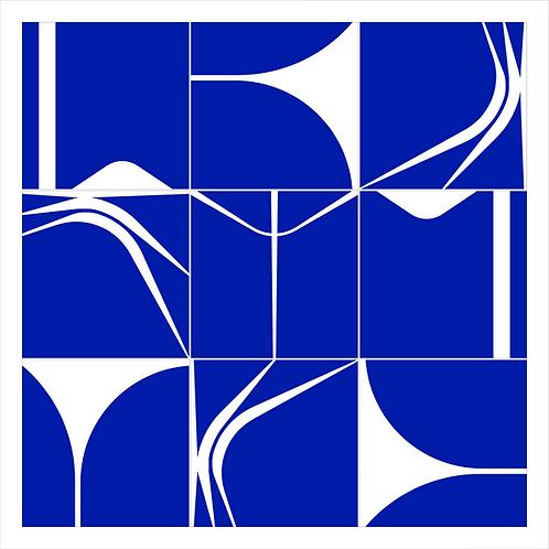 Quadro | BRASÍLIA60 | Azul