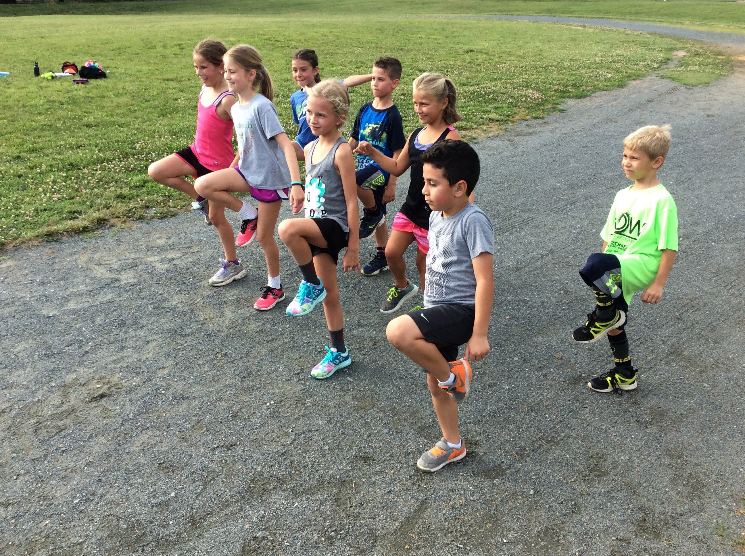 Go Fast Youth Running Camp