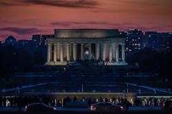 Lincoln Memorial at Dusk