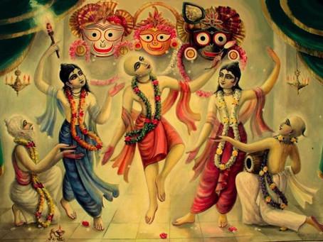 Lord Caitanya Mahaprabhu in Jagannatha Puri (Summary by Vijaykrishna dasa)