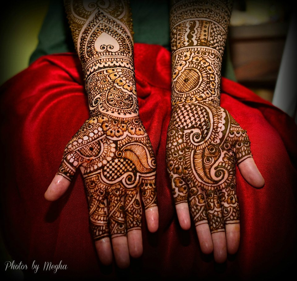 Bridal Mehndi Fusion Wedding